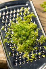 Raw Green Organic Lime Zest