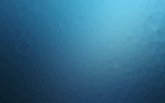 Light BLUE vector blurry triangle texture.