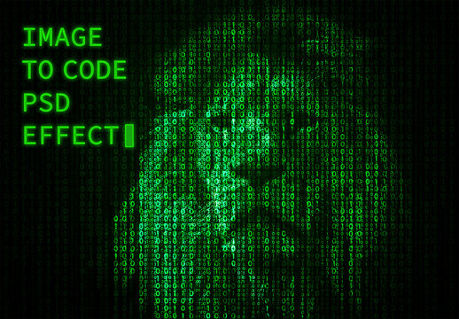 Image to Code Photo Effect