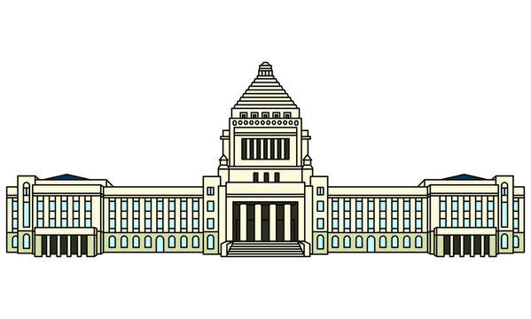 国会議事堂(Japanese Diet Building)