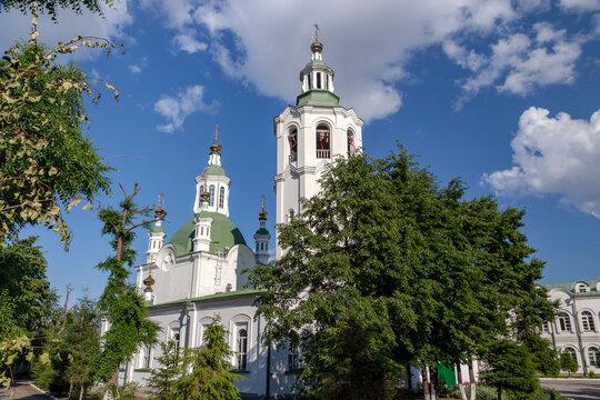 Holy cross Church. Tyumen