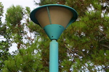 lantern design for street lighting in a big city in Israel Fotomurales