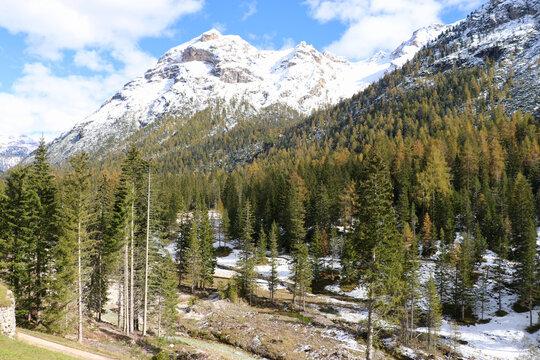 Passo di Cimabanche, Pass Cimabanche, Dolomiten
