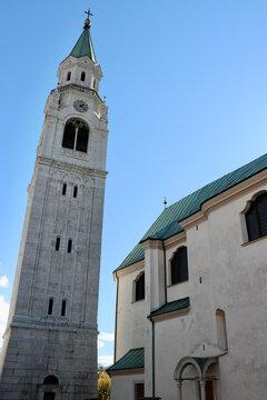 Kirche Philippus und Jakobus, Cortina d'Ampezzo