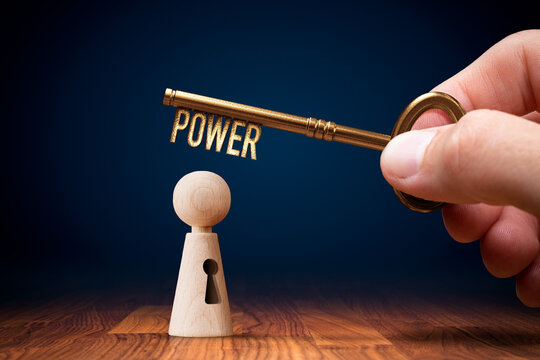 Key to your power motivational concept