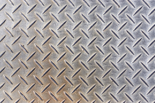 metal plate top view texture background