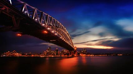 city harbour bridge