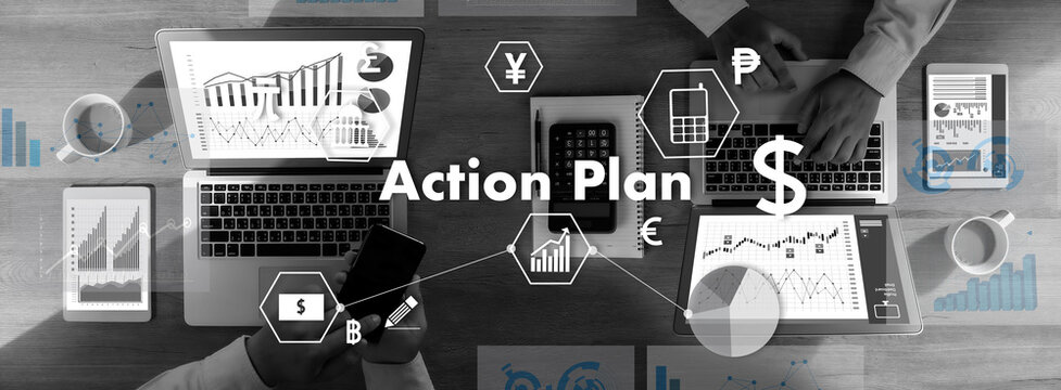 Action Plan Strategy Vision Planning Action Plan Strategy Vision Planning work ACTION businessman