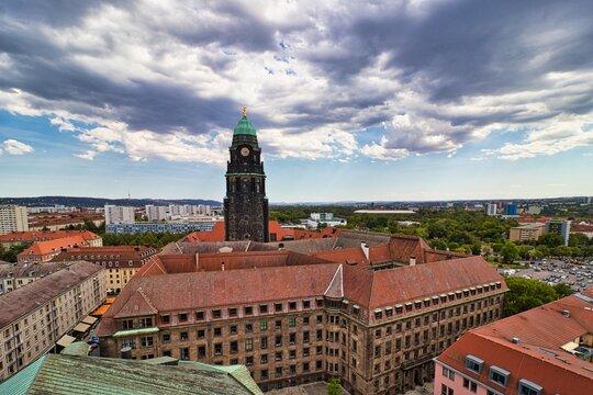 Dresden - Rathausturm