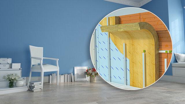 Home interior construction details