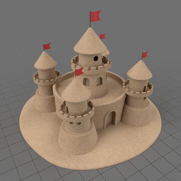 Sand castle 5