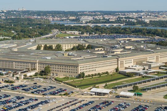 DC Views overlooking the Pentagon