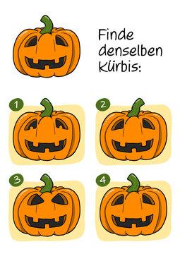 Rätselbild Halloween