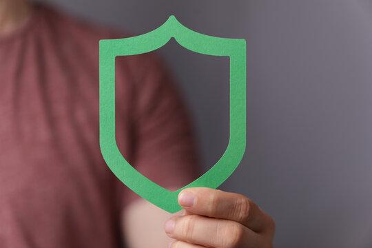 shield privacy secure pretection concept