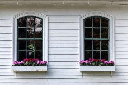 An interesting pair of windows.