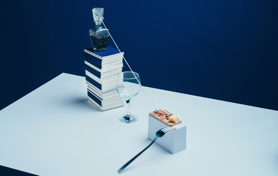 Mouse trap mechanism / Still Life Study/Abstract Setup.