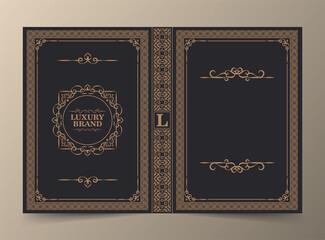 Obraz Ornamental book cover design - fototapety do salonu