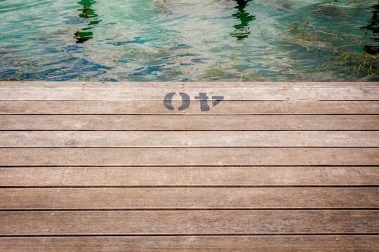 Number at the dock