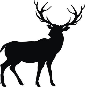 deer svg,deer head svg,deer silhouette,deer clipart,deer dxf,deer cut file,deer vector,deer hunting svg,deer clip art,deer cut files,