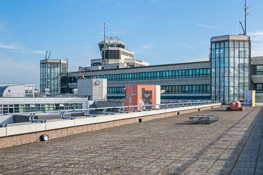 Tegel Otto Lilienthal Airport in Berlin, Germany
