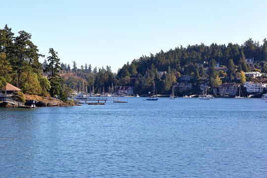 Friday Harbor, San Juan Island, Washington - USA