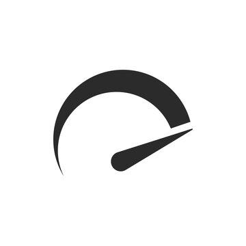 Speedometers logo icons. Vector illustration