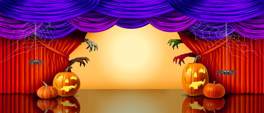 Halloween Holiday Banner