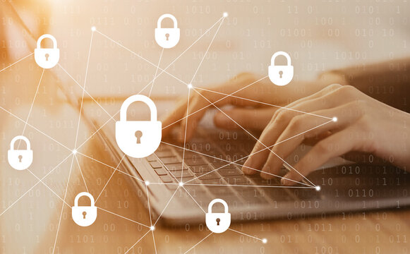 Internet security and data protection, blockchain and cybersecurity