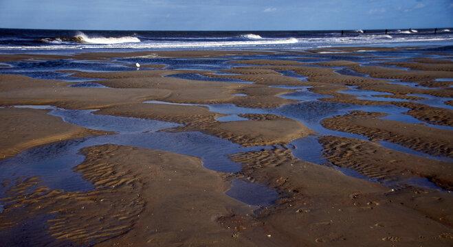 Strandimpressionen auf Norderney