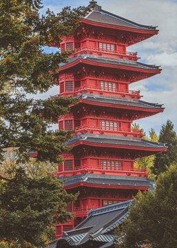 La tour japonaise Bruxelles - Japanese Tower in Brussels
