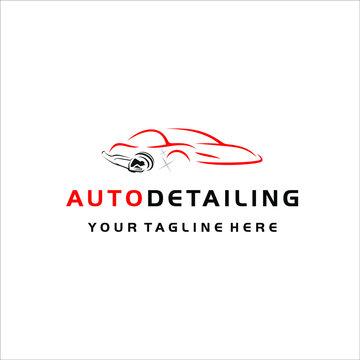 Auto detailing car repair shop