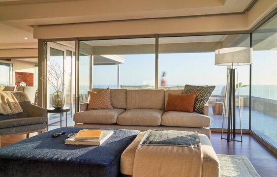 Luxury home showcase interior living room