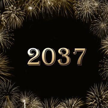 Frohes neues Jahr 2037