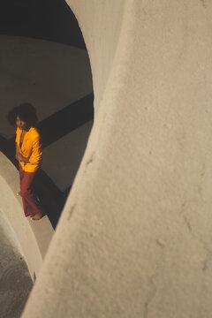 Black Woman Minimalist Portrait