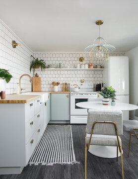 Bright Bohemian Kitchen