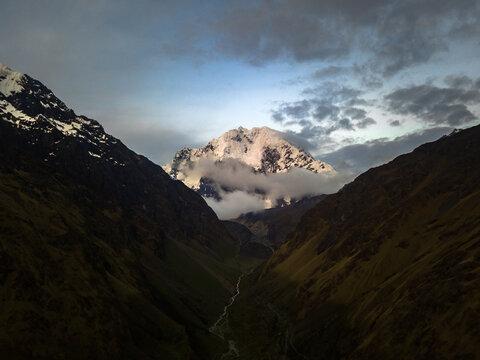 Salkantay summit, Andes, Peru