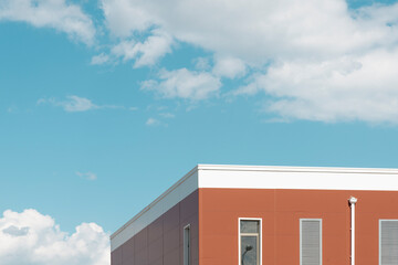 Modern building Fotomurales