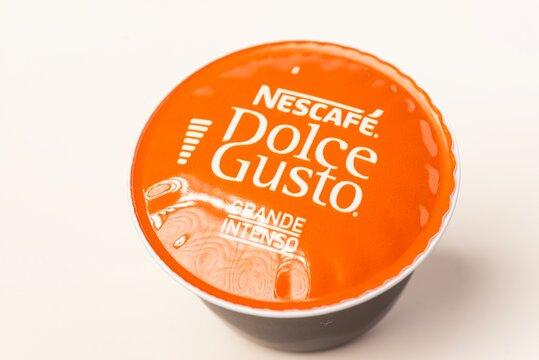Nescafe Dolce Gusto coffee capsules