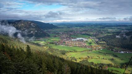 Herbstferien in Pfronten im Allgäu, auf dem Breitenberg