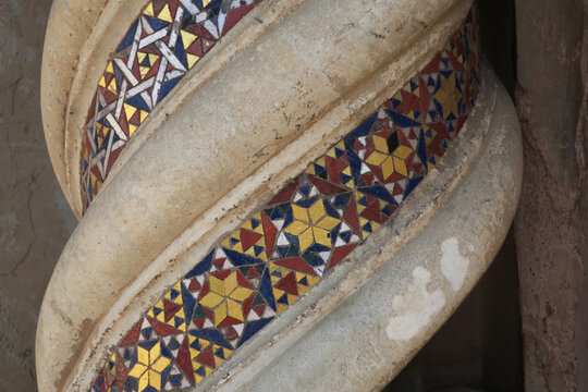 detail of a decoration in the cathedral of Orvieto