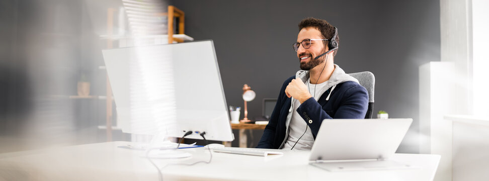 Video Conference Online Interview Business Call