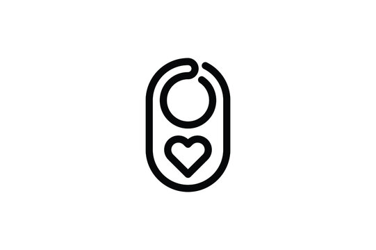 Baby Outline Icon - Appron