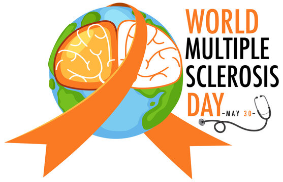 World Multiple Sclerosis Day logo or banner