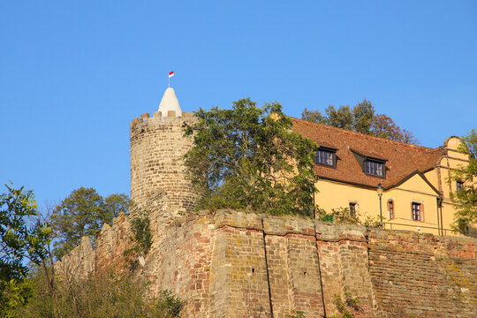The castle Schoenburg, Saxony-Anhalt, Germany