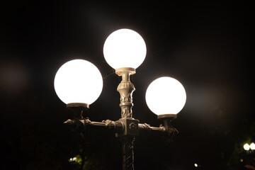 Lamp Post in Bartholdi Park Fotomurales