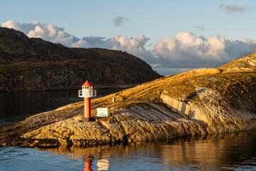 Saltfjorden w okolicy norweskiego miasta Bodo