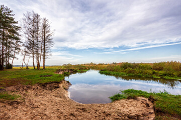 Przyroda i architektura drewniana w dolinie Narwi, Podlasie, Polska