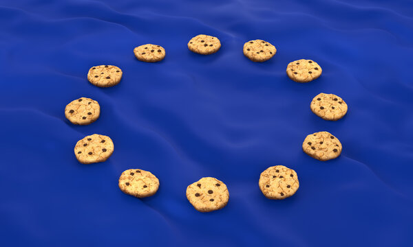 EU Privacy Directive Cookies GDPR flag