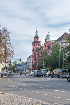 Pankow town hall at the Breite Strasse in Berlin, Germany