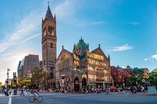 Old South Church (Third Church) in Boston, Massachusetts, USA